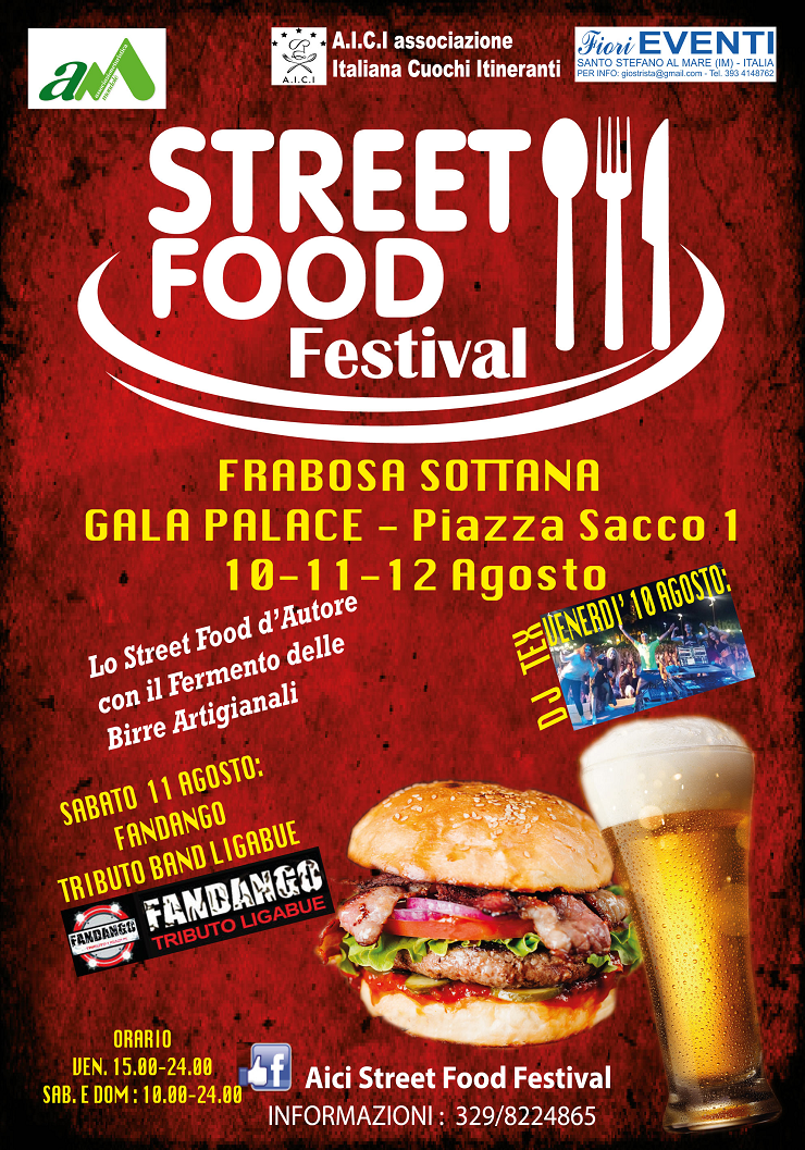 Street Food Festival 2018 a Frabosa Sottana