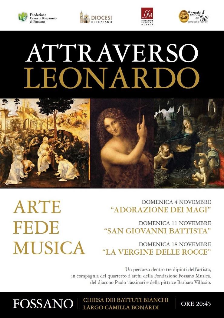 Attraverso Leonardo... arte, fede e musica a Fossano