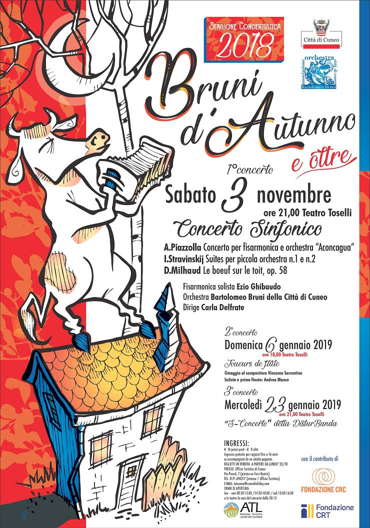 Bruni d'Autunno a Cuneo
