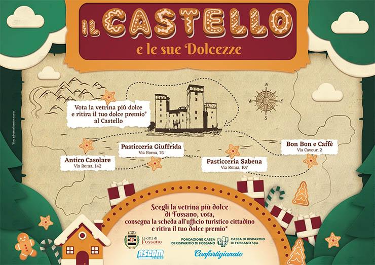 Il Castello e le sue dolcezze a Fossano