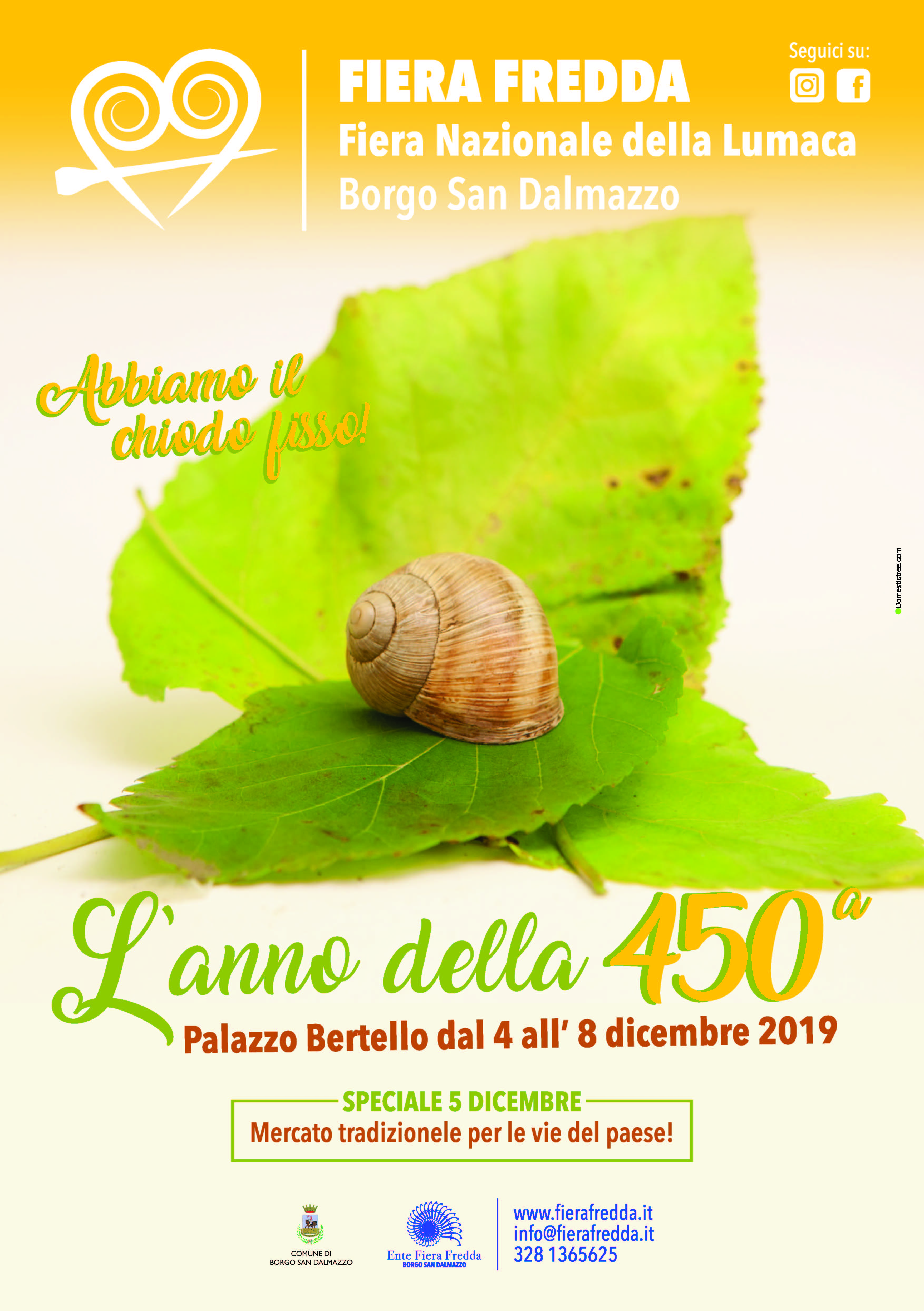 Fiera Fredda 2019 a Borgo San Dalmazzo
