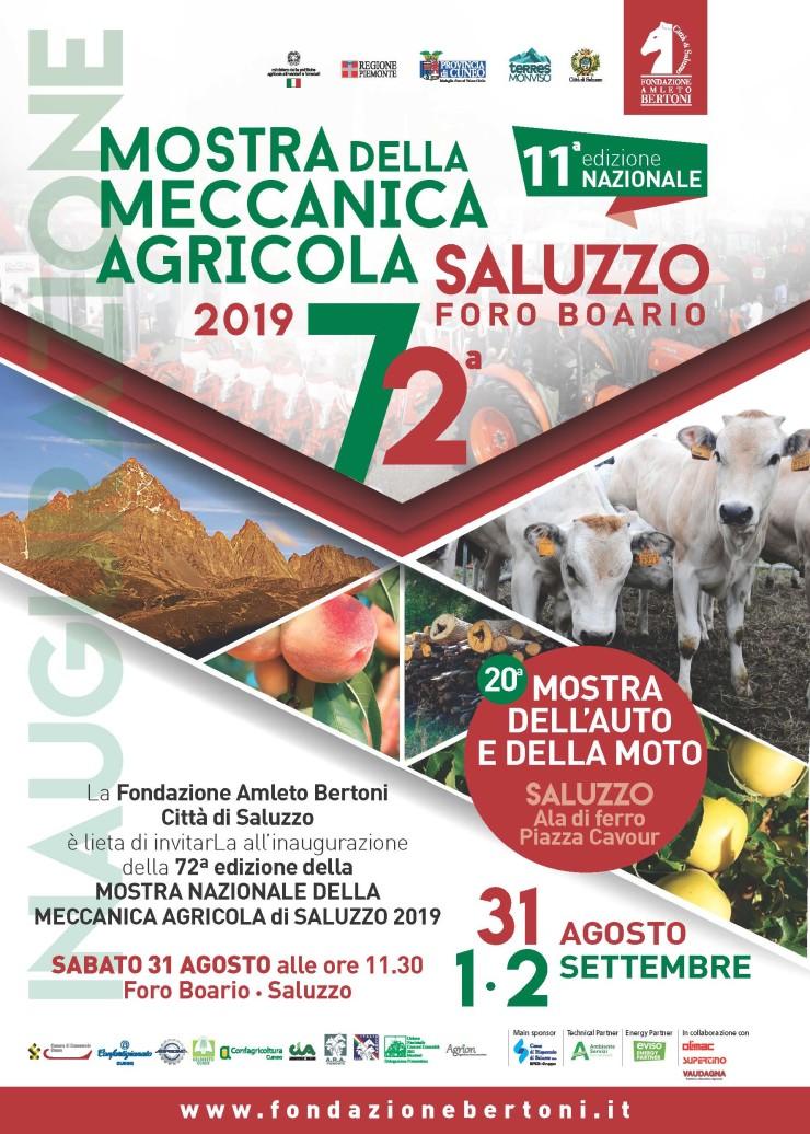 Mostra nazionale della Meccanica Agricola 2019 a Saluzzo