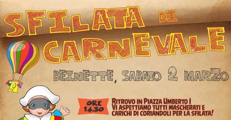 CARNEVALE DI BEINETTE 2019