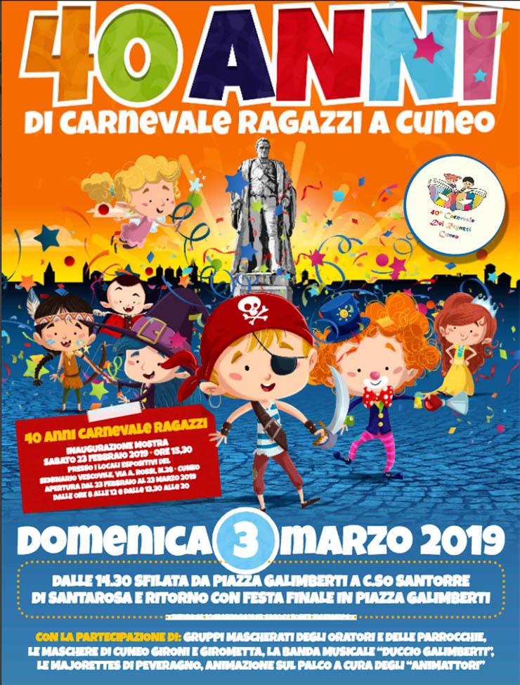 CUNEO: Carnevale dei Ragazzi 2019