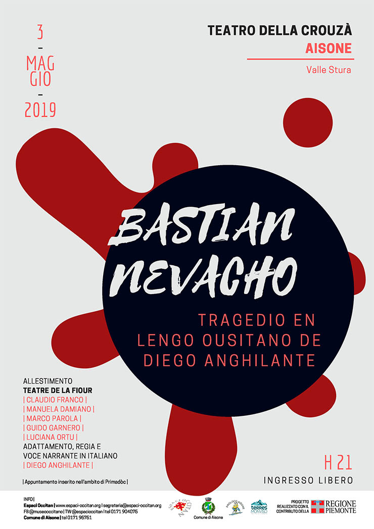 AISONE: Bastian Nevacho - tragedia in lingua occitana