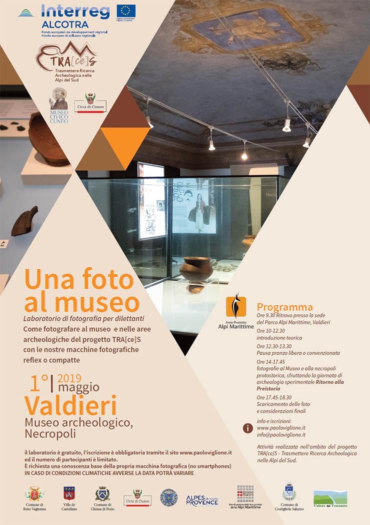 VALDIERI: Una foto al museo - workshop fotografico
