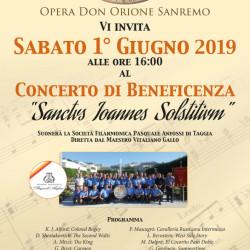 Don Orione Sanremo 1 Giugno Concerto