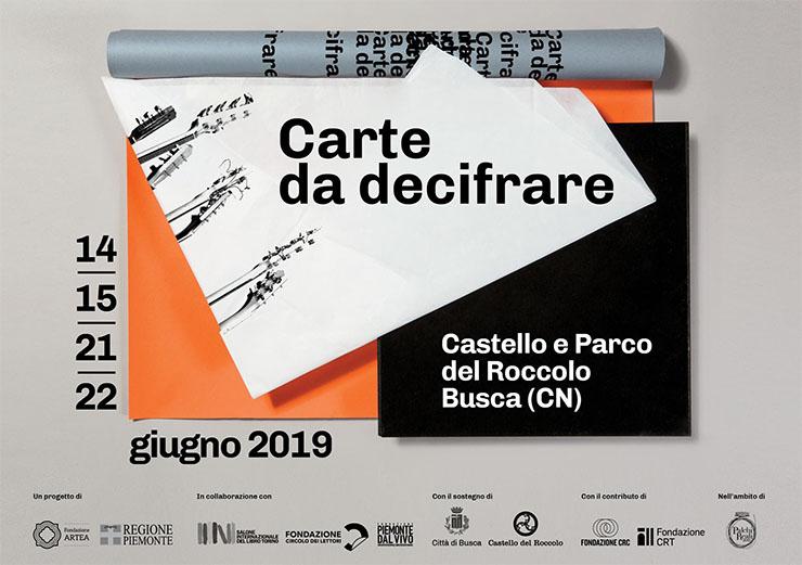 BUSCA: Carte da Decifrare 2019 al Castello del Roccolo