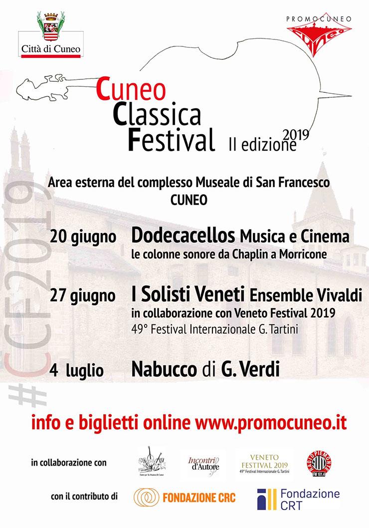 CUNEO CLASSICA FESTIVAL 2019