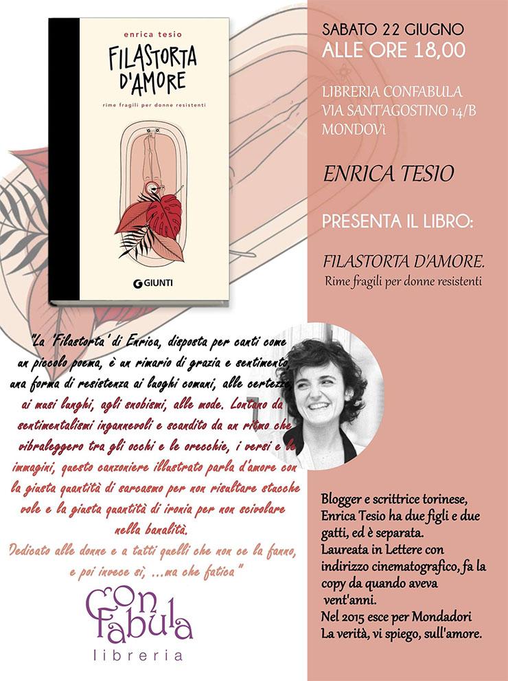 MONDOVI': Filastorta d'amore con Enrica Tesio