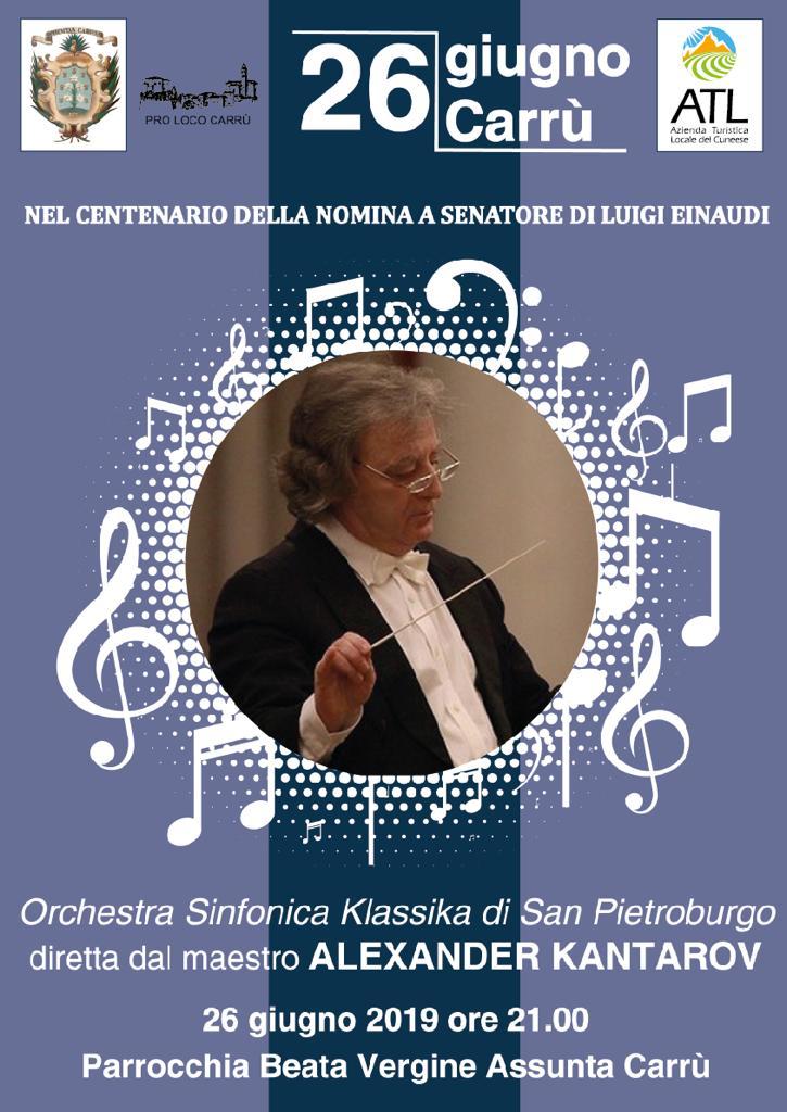 CARRU': Orchestra sinfonica klassika di San Pietroburgo