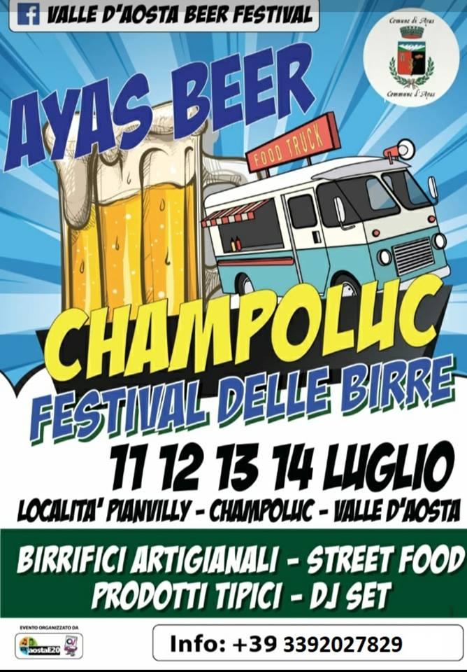 CHAMPOLUC (AO): Valle d'Aosta Beer Festival 2019