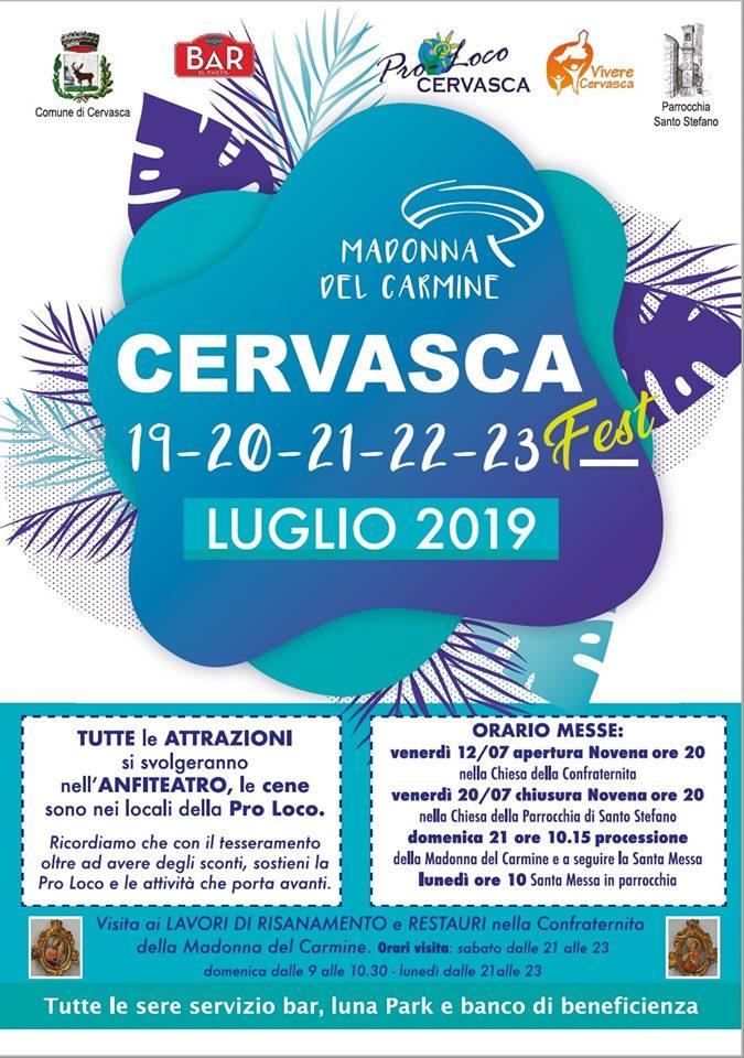 CERVASCA: Cervasca Fest 2019