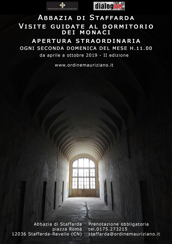 REVELLO: Visita guidata ai dormitori dei monaci dell'Abbazia di Staffarda