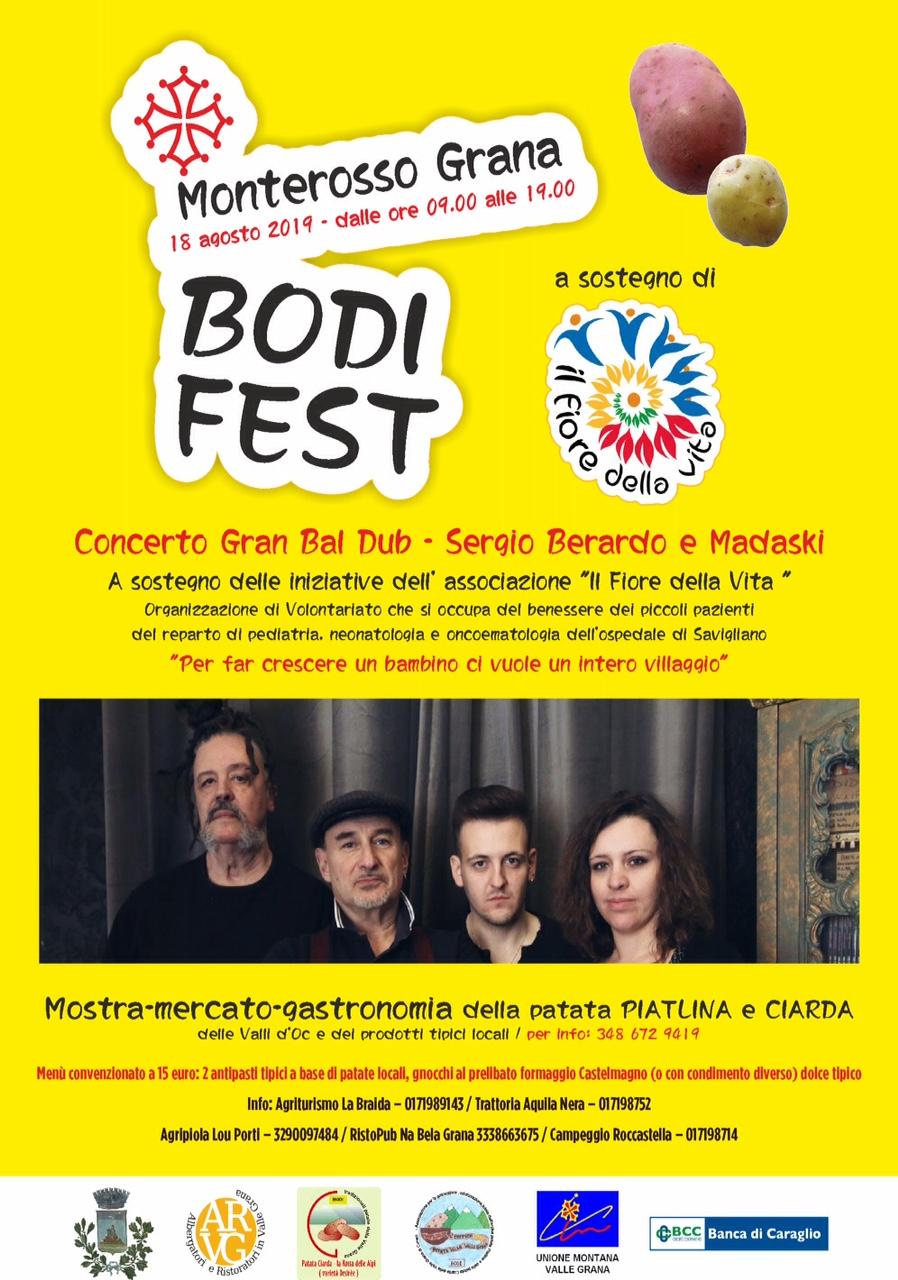 MONTEROSSO GRANA: Bodi Fest 2019