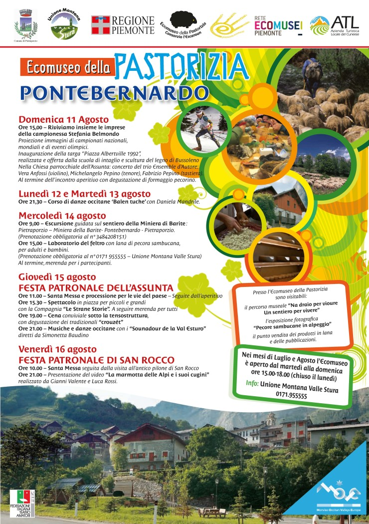PIETRAPORZIO: Ecomuseo della pastorizia 2019 a San Pontebernardo