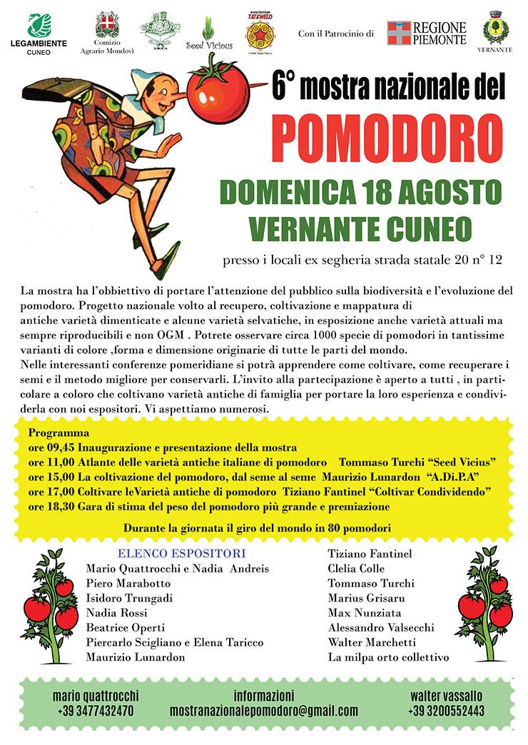 VERNANTE: Mostra nazionale del Pomodoro 2019