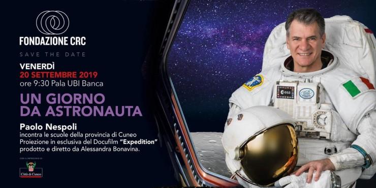 CUNEO: Un giorno da astronauta con Paolo Nespoli