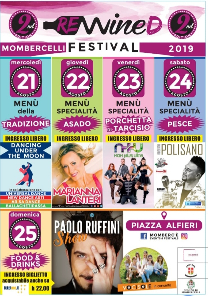MOMBERCELLI (AT): Rewined Festival 2019