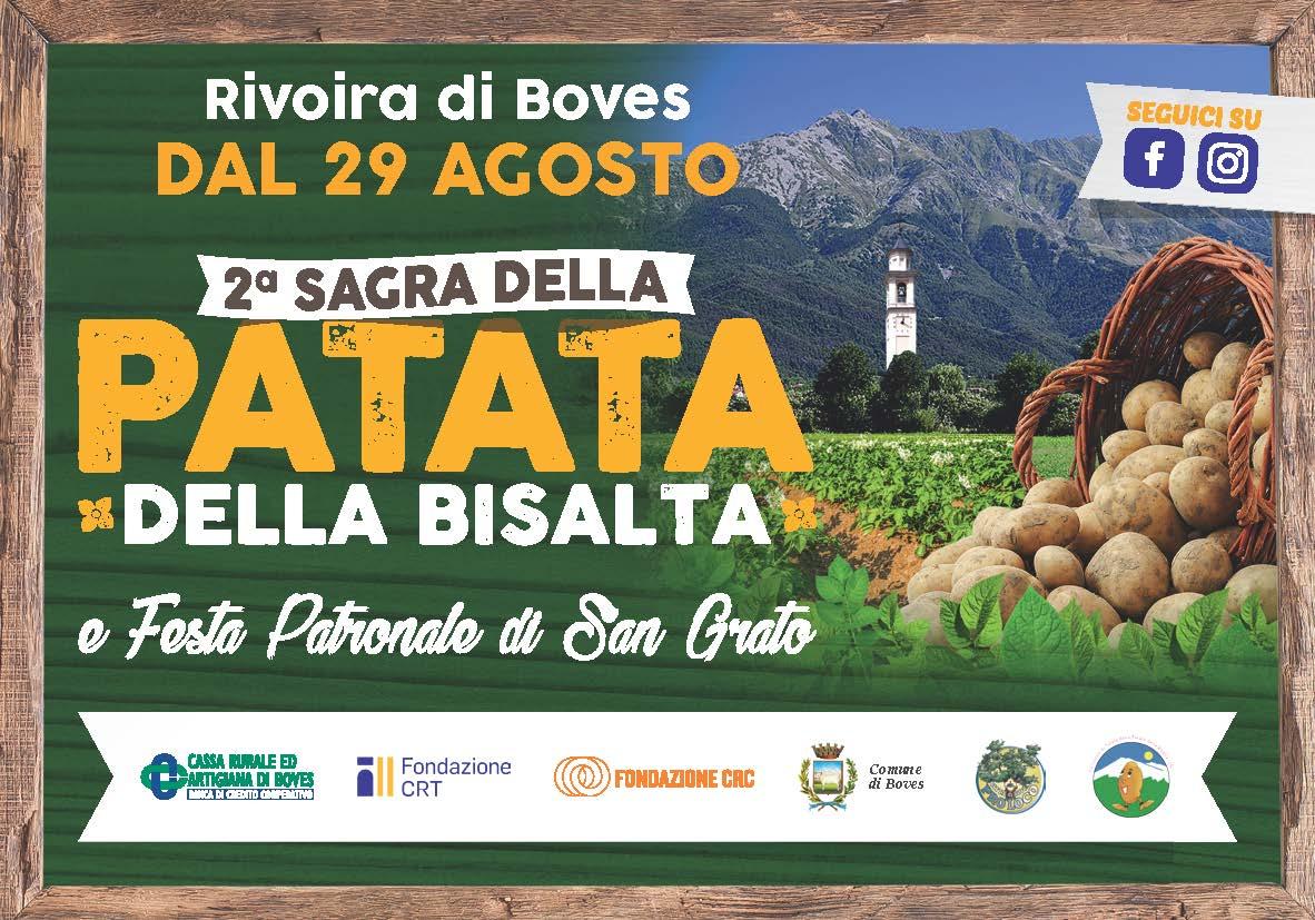BOVES: Festa di San Grato e Sagra della Patata 2019 a Rivoira