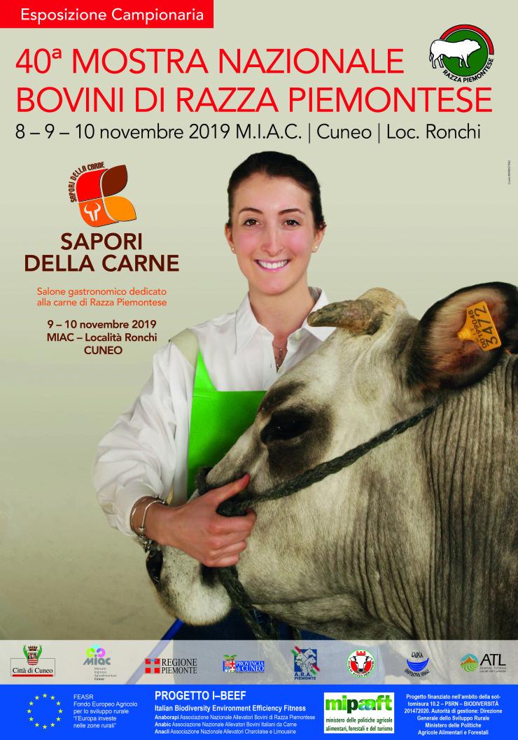 CUNEO: Sapori della Carne 2019 - Mostra nazionale bovini di Razza Piemontese