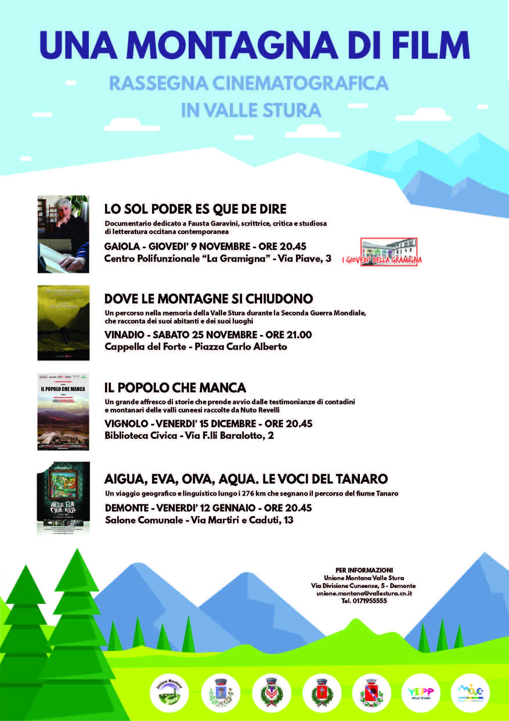 ARGENTERA: Una montagna di film 2019