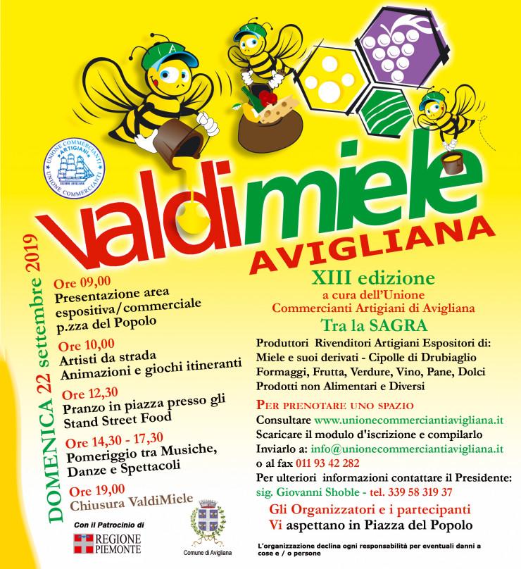 AVIGLIANA (TO): Valdimiele 2019