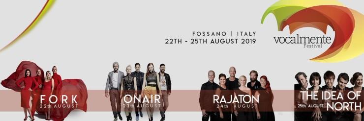 FOSSANO: Vocalmente Festival 2019