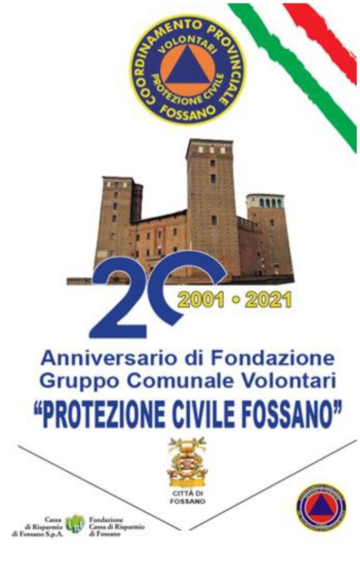 FOSSANO: 20° anniversario della Protezione Civile di Fossano
