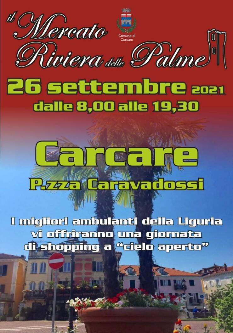 CARCARE (SV): Mercato Riviera delle Palme