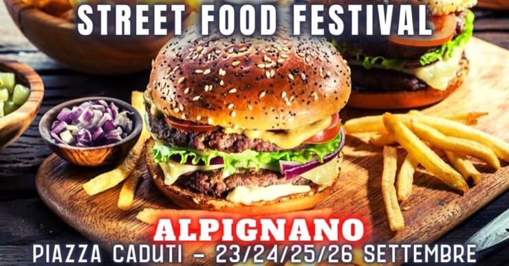 ALPIGNANO (TO): Street Food Festival 2021