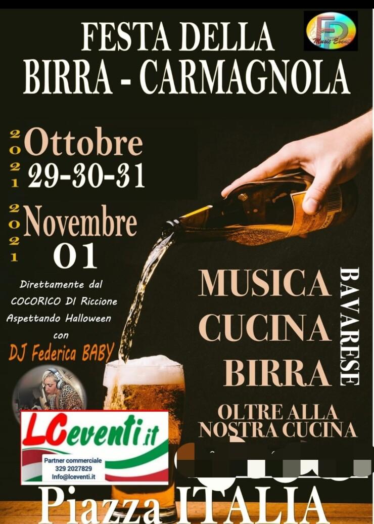 CARMAGNOLA (TO): Festa della Birra 2021